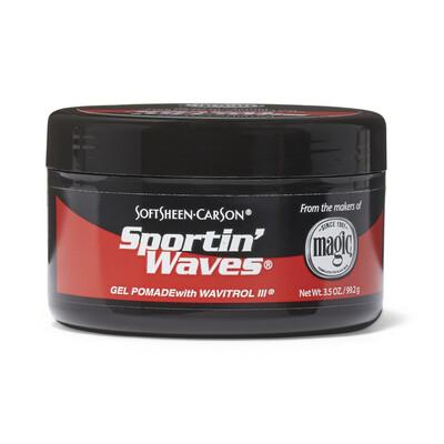SoftSheen-Carson Sportin' Waves Gel Pomade  Wavitrol III, 3.5 oz: $2.99