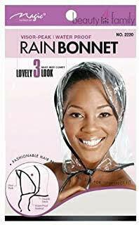 Rain Bonnet: $2.99