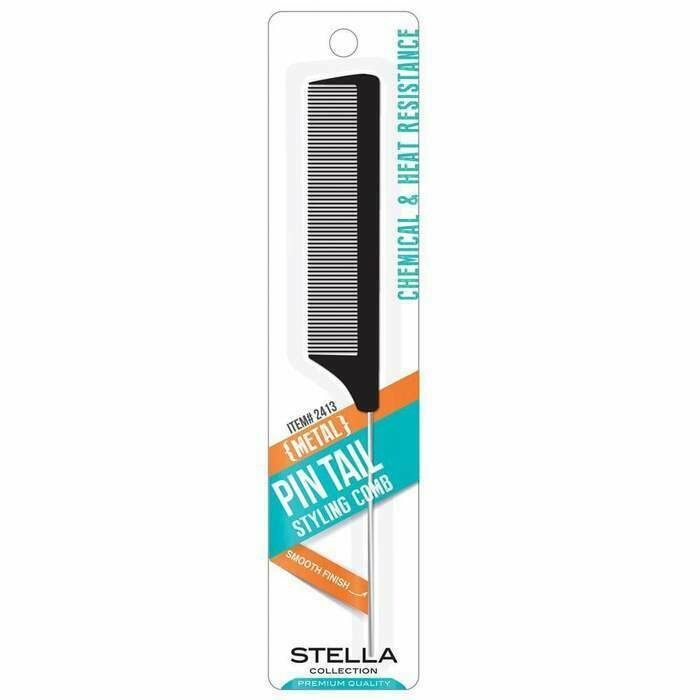 2413  Stella Collection Pin tail metal comb: $1.99