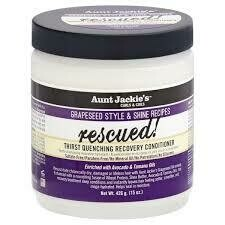 Aunt Jackie's Rescued Thirst Quenching Recovery Conditioner 15oz: $8.99
