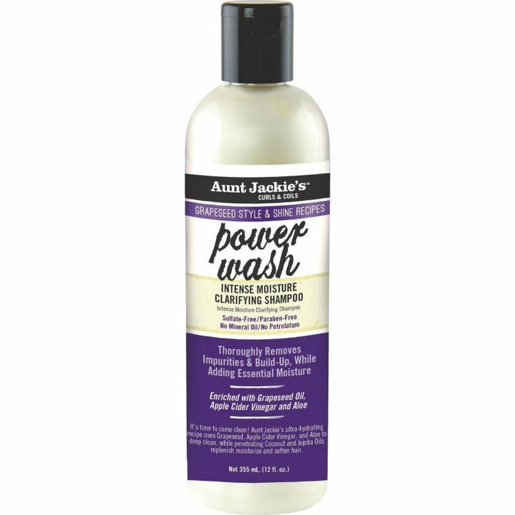 Aunt Jackie's Grapeseed Collection Power Wash Intense Moisture Clarifying Shampoo 12 oz:$8.39