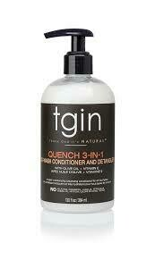 TGIN Quench 3-In-1 Cleansing Co-Wash Conditioner And Detangler 13oz: $14/99