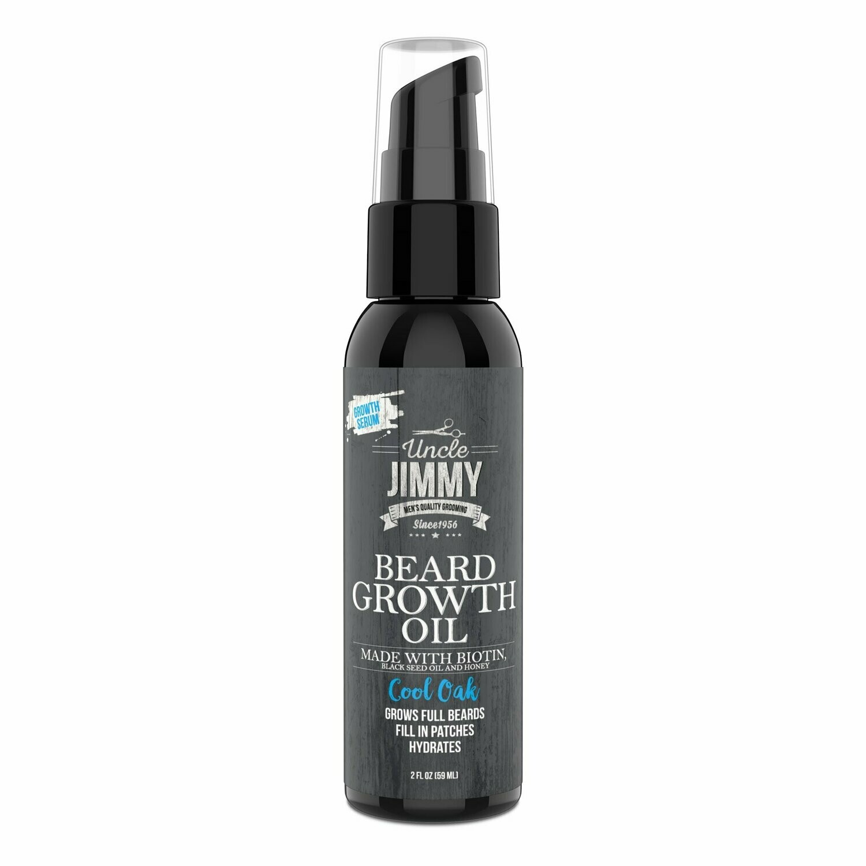 Uncle Jimmy Beard Growth Oil Cool Oak 2 oz: $10.29
