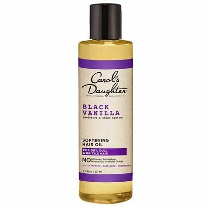 Carol's Daughter Black Vanilla Moisture & Shine Softening Hair Oil 4.3 fl oz: $12.99