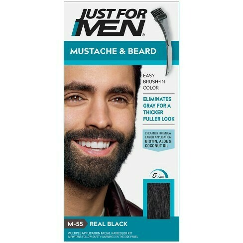 Just for men mustache and beard : $7.99