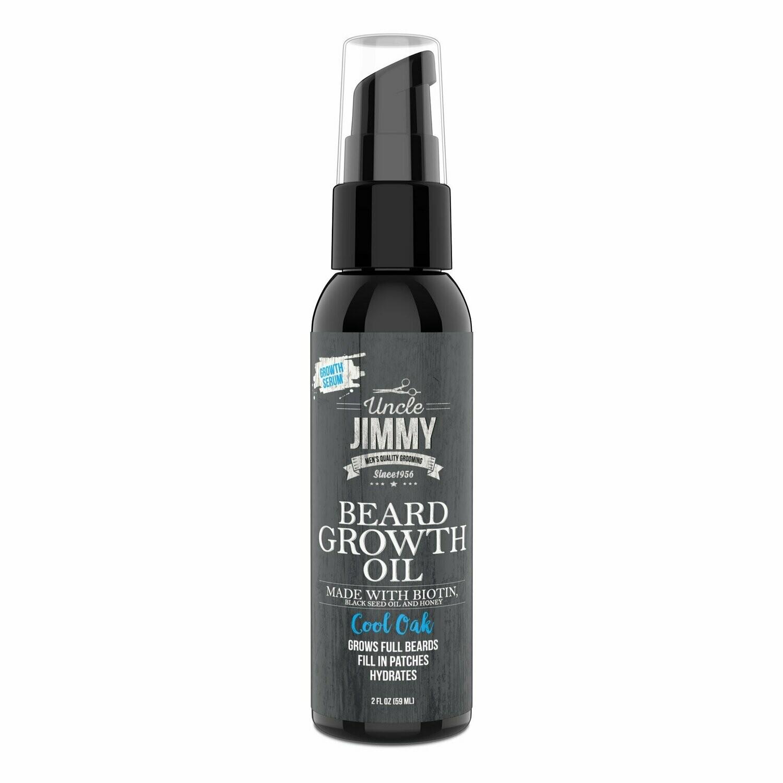 Uncle Jimmy Beard Growth Oil 2 oz: $10.29