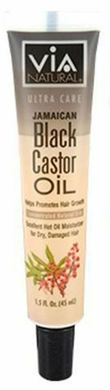 VIA Jamaican Black Castor Oil: $1.99