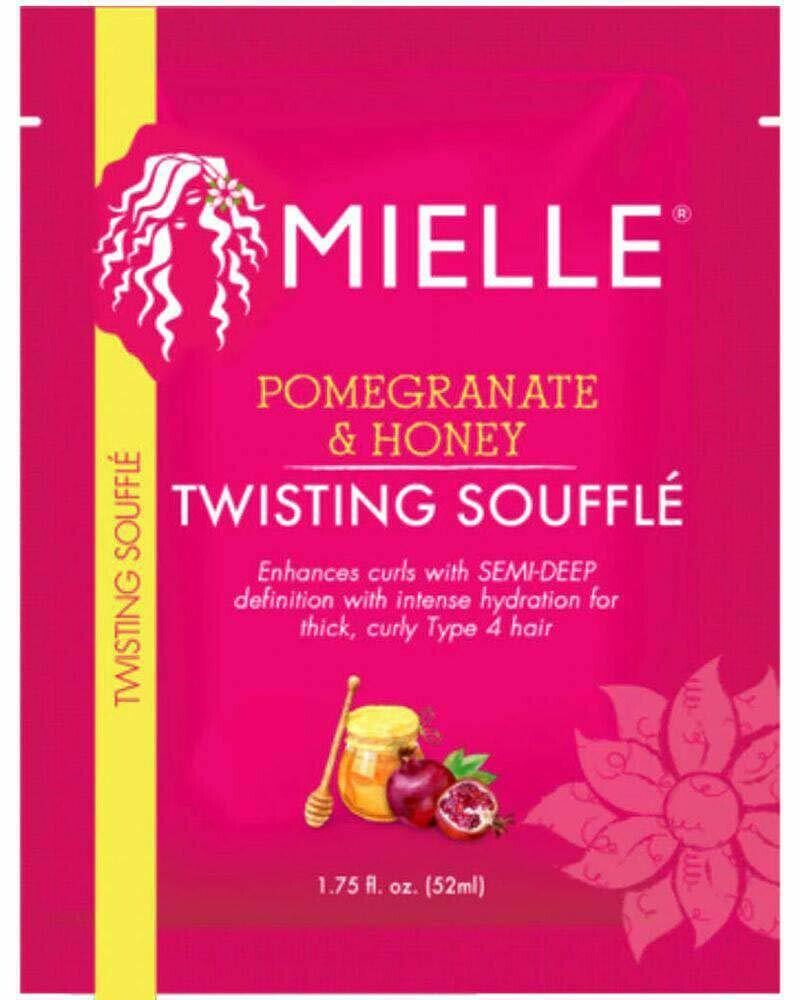 Packet of Mielle Pomegranate & Honey Twisting Souffle packet $3.99