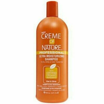 32 oz Creme of Nature Professional Ultra Moisturizing Shampoo Kiwi & Citrus: 32oz: $12.99