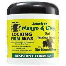 Jamaican Mango & Lime Locking Firm Wax Resistant 6oz :$6.99