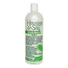Hawaiian Silky Miracle Worker 14 in 1: 32 fluid ounces $11.99