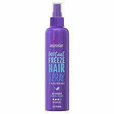 Aussie Instant Freeze Hair Spray 10 oz : $3.99