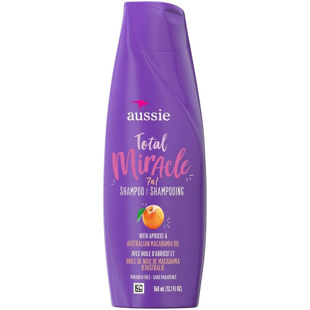 Aussie Total Miracle 7 in 1 Shampoo with apricot and Australian Macadamia oil 12 fl oz: $4.99