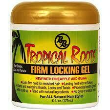 Bronner Brothers Tropical Roots Firm Locking Gel $4.99