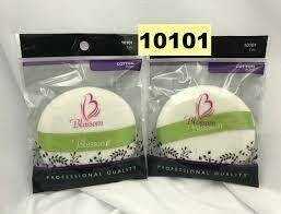 10101 Blossom Cotton Powder Puff with band: $2.99