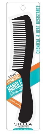 2422  Stella Collection flawless handle Comb Styling Comb: $2.99