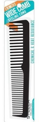 2448  9 Inch Wide Comb Sectioning Teeth Comb: $2.99