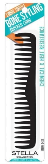 2423|Bone Styling Comb with Wide Comb   $1.99