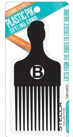 #2409STY Stella Collection Plastic Pik Styling Comb: $2.99