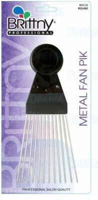 2411  Brittny Professional Metal Fan Pik $2.99