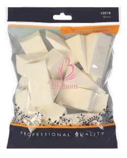 10516| Blossom Sponge Wedges 16 pieces/pack: $3.99