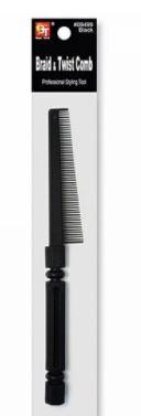 09499| Braid & Twist Comb: $1.99
