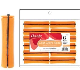 1101  Annie  Cold Wave  Rods Jumbo- 12ct: $3.29
