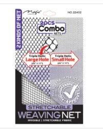 22402  Magic Collection 2 pcs Combo Nets Stretchable Weaving Net: $3.99