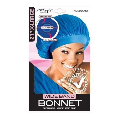 "2194| Magic Collection 3.5"" Wide Band Bonnet: $3.99"