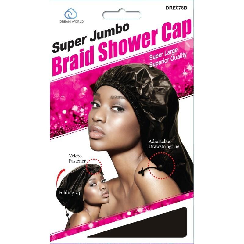 Dream World Super Jumbo Braid Shower Cap $4.99