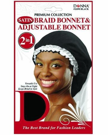 11098 Dream World Satin Braid Bonnet $3.99