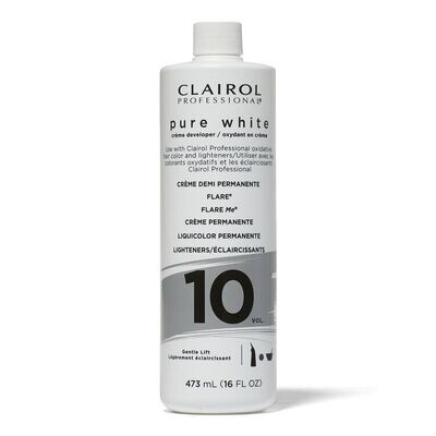 #16552 Clairol Pure White Creme Developer Standard Lift 8oz : $3.99