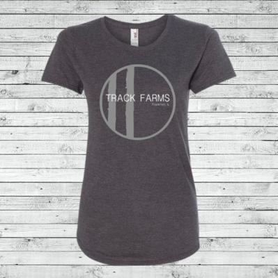 Ladies T-Shirt (Large Gray Logo)