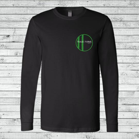 Unisex Long-Sleeve Shirt (Small Green Logo)