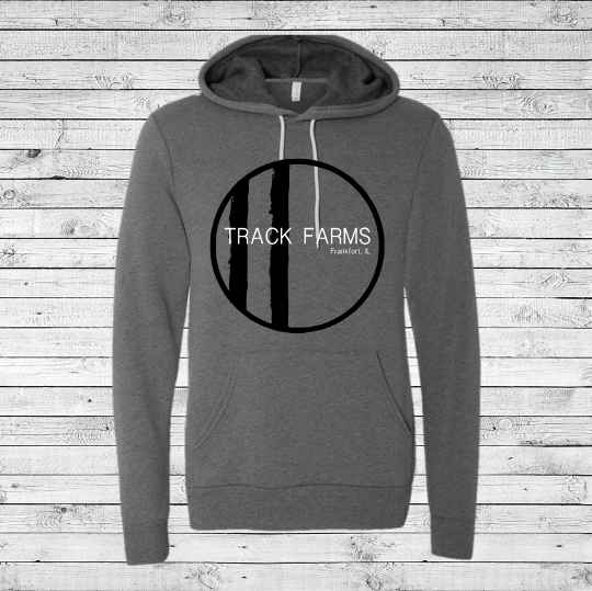 Unisex Hoodie (Black Logo on Charcoal)