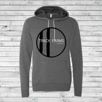Unisex Hoodie (Black Logo on Charcoal)
