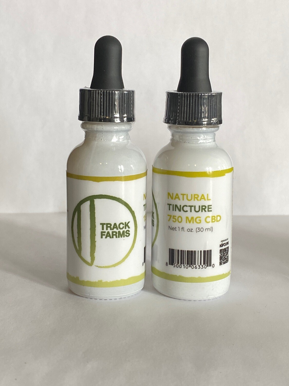 CBD Tincture Oil - Natural Flavor