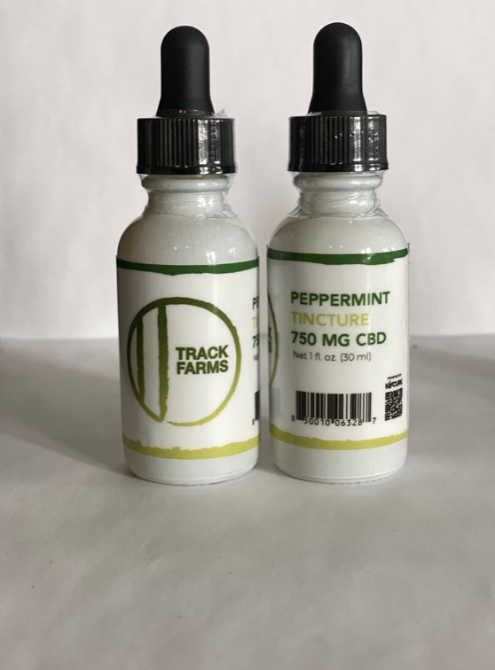 CBD Tincture Oil - Peppermint Flavor