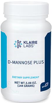 D-MANNOSE PLUS POWDER  (144 G) POWDER Klaire Labs
