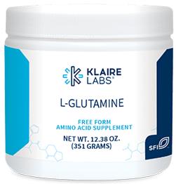 L-GLUTAMINE POWDER,Klaire Labs,12.38 OZ (351 G) POWDER