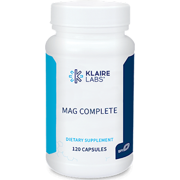 Mag Complete,Klaire Labs,120 CAPSULES
