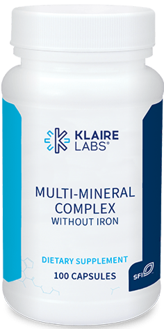 MULTI-MINERAL COMPLEX WITHOUT IRON