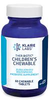 THER-BIOTIC® CHILDREN'S CHEWABLE,Klaire Labs,60 CHEWABLE TABLETS