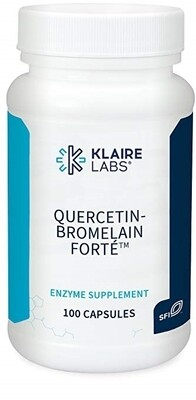QUERCETIN-BROMELAIN FORTÉ™ Klaire Labs 100 Capsules