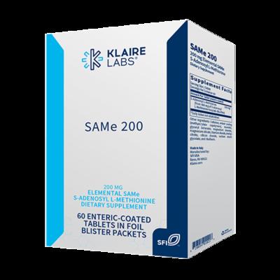 SAMe 200 mg 60 tablets Klaire Labs