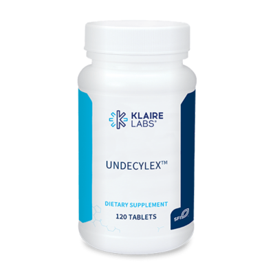 UNDECYLEX™,Klaire Labs ,100 MG,120 TABLETS