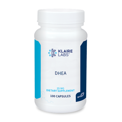 DHEA 25 MG ,100 CAPSULES Klaire Labs