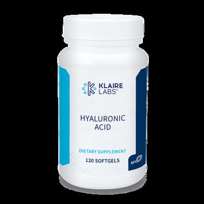 Hyaluronic Acid 140 mg 120 SOFTGELS Klaire Labs