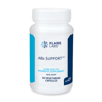 ABX SUPPORT,Klaire Labs 400 mg,60 veg capsules