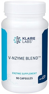 V-NZYME BLEND™,Klaire Labs , 700 mg,90 CAPSULES